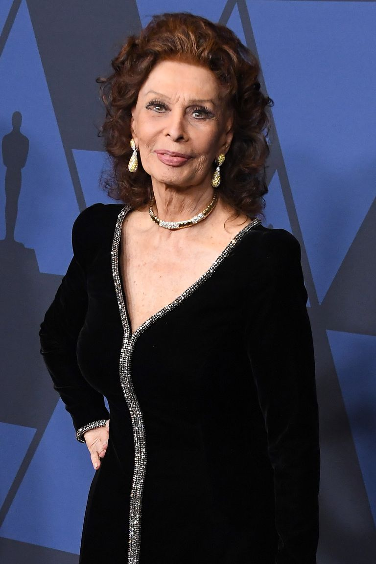 NOW: Sophia Loren