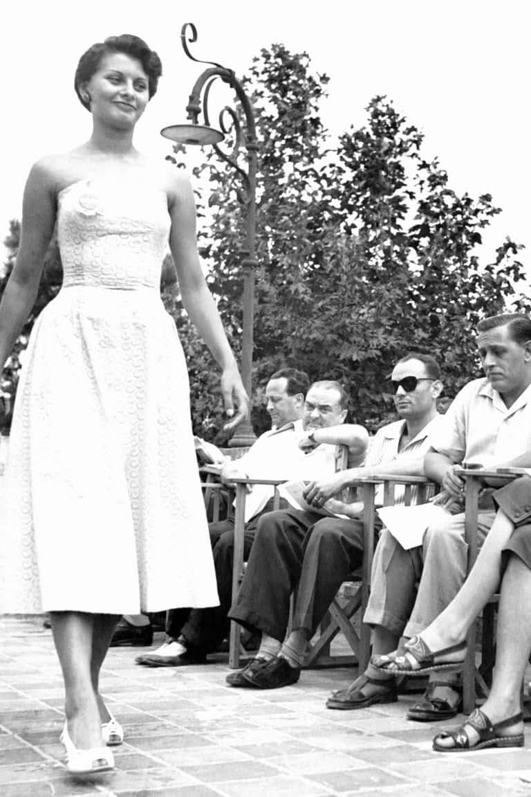 THEN: Sophia Loren